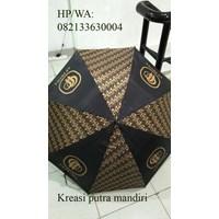 Batik golf umbrella