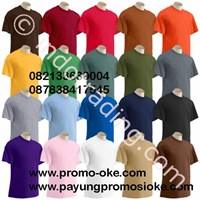 Kaos Polo Oblong Aneka Warna 1