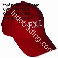 Topi Merah Promosi 1