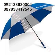 Payung Standart Biru Putih Promosi