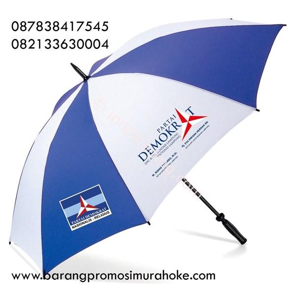 Payung Golf Logo Partai Bahan Nilon