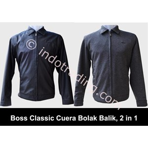 Jaket Boss Bahan Anti Bara