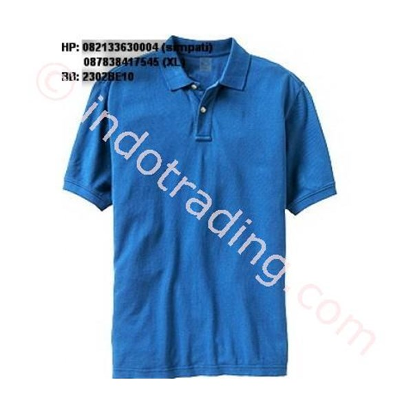 T Shirt Polo Blue
