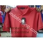 Polo Shirt Katun Andrew Michele Merah Promosi 1