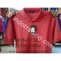 Polo  Shirt Andrew Michele Red Promotion