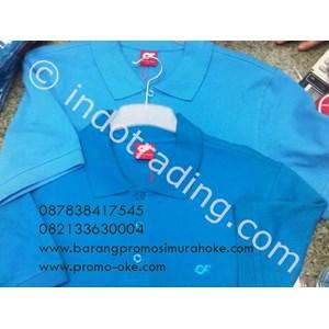 Polo Shirt CF Promosi Biru 01