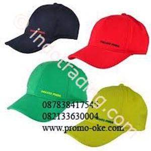 Topi bahan rafel promosi 01