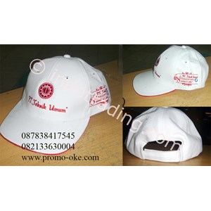 Topi bahan rafel promosi 03