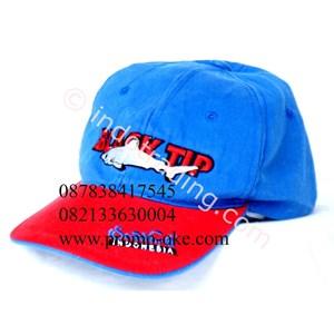 Topi bahan rafel promosi 04