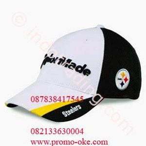 Topi bahan rafel promosi 06