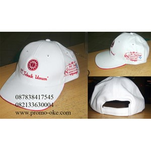 Topi bahan rafel promosi 08