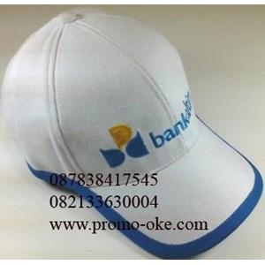 Topi bahan rafel promosi 09