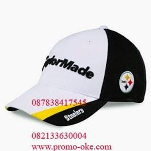 Topi bahan rafel promosi 10