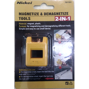 Obeng Magnetize & Demagnetize Tools Nickei 761101 2 In 1
