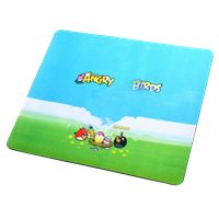(New Angry Birds Pattern) Mouse Pad 1