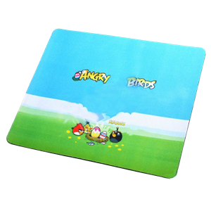 (New Angry Birds Pattern) Mouse Pad