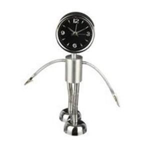 Jam Alarm Model Robot Stainlis