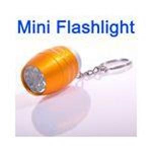 Lampu Senter Terang Super Mini Warna Oranye