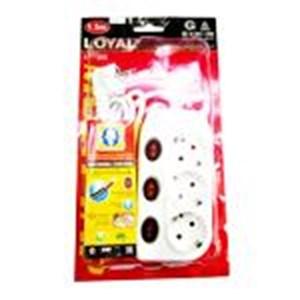 Stop Kontak Loyal Ly253 3Lb S Multi Tap Socket 1.5M