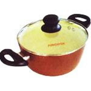 Dutch Oven 24 Cm Ceratinum Ceramic Hitam