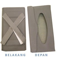 Nocy Box Tissue BS1008 Tali Dua (Grey)