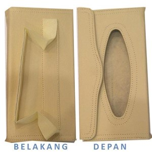 Nocy CF Back Strap One Tissue Box (Cream)