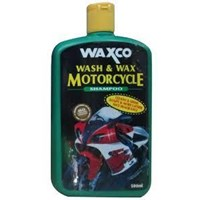 Waxco Wash & Wax Motorcycle Shampo 1