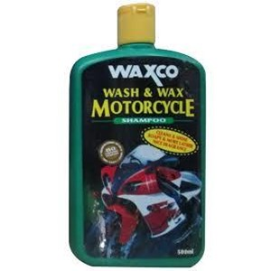Waxco Wash & Wax Motorcycle Shampo