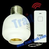 Mini Standard Screw Remote Control Lamp Light Holder