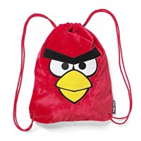 Tas Sekolah Red Bird Drawstring Backpack
