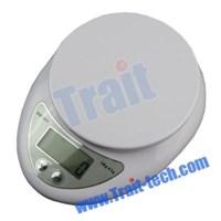 Silver Portable Electronic Scale ( Timbangan Lantai )