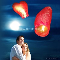 Jual Heart Sky Lantern Chinese Flying Lanterns ( Mainan Tiup )