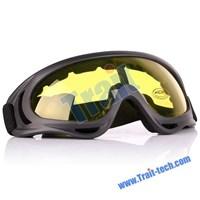 Jual Desert Locust Style Interchangeable Lens Yellow Frame Black Mirror Surface ( Kacamata Dan Lensa Kontak )