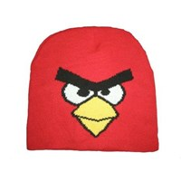 Jual Cool Angry Birds Red Skull Cap Hat Beanie ( Topi )