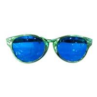 Jual Green - Big Plastic Party Glasses ( Kacamata Dan Lensa Kontak )