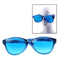Jual Blue - Big Plastic Party Glasses ( Kacamata Dan Lensa Kontak )