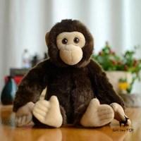 Jual Cute Chimpanzees Style Animal Doll Home Decoration Toy Gift ( Mainan Bayi )