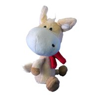Jual Cute Cattle Style Animal Doll Home Car Decoration Toy Gift ( Mainan Bayi )