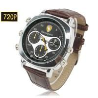 Jual 720P Watch Spy Camera With Waterproof Function Built In 4Gb Memory ( Jam Tangan )