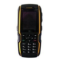 Jual L9 Orange Waterproof Ipx1+ Dustproof + Shockproof Mobile Phone With Flashlight ( Handphone )