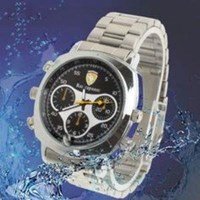 Jual Waterproof 720P Hd Dvr Wrist Watch Recorder Spy Camera ( Jam Tangan )