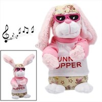 Jual Funny Rabbit Plush Toy With Action & Sound Effect For Children ( Mainan Bayi )