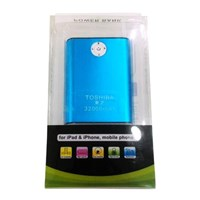Power Bank Toshiba 32000Mah Blue ( Aksesoris Handphone )