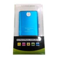 Jual Power Bank Toshiba 32000Mah Blue ( Aksesoris Handphone )