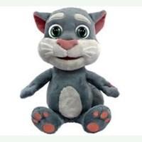 Jual High Quality Talking Tom Cat Stuffed & Plush Animal Sound Recording Toy ( Mainan Bayi )