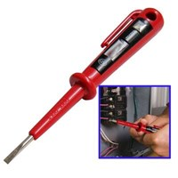 Handheld Voltage Detector Doubles As Screwdriver Detection Voltage Range: 100-500V ( Voltase Meter )