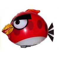 Air Swimmer Remote Control Flying Air Crazy Bird ( Mainan Plastik )