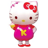 Hello Kitty Walking Balloons ( Mainan Plastik )