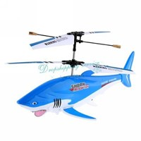 Jual Sy-051 2012 Newest Usb Charging 3 Channel Shark Helicopter Toy ( Mainan Plastik )