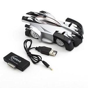 Dari Iw500 Iphone Ipad Ipod Controlled Rc Rc Wall Climber Car ( Mainan Mobil ) 0